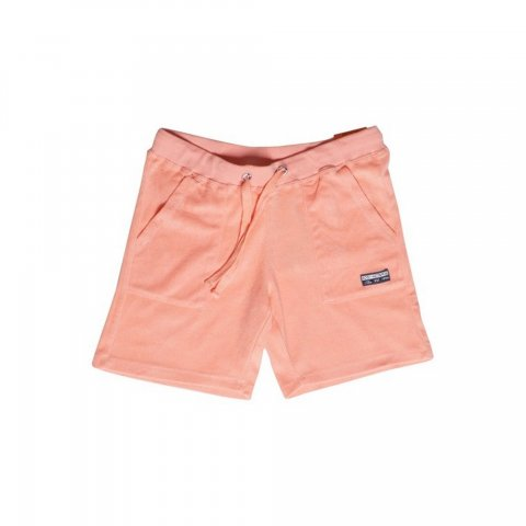 Body Action Body Action Women Terry Shorts (Coral)