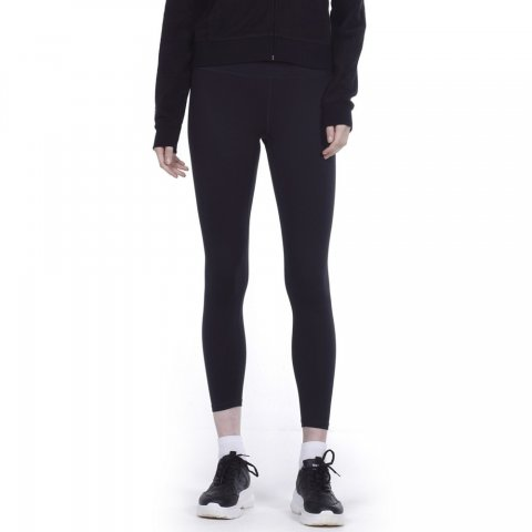 Body Action BODY ACTION WOMEN TRAINING TIGHTS - BLACK
