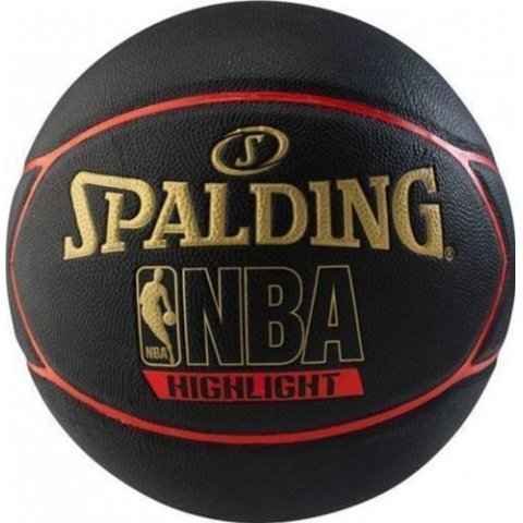 Spalding SPALDING HIGHLIGHT RUBBER BASKETBALL