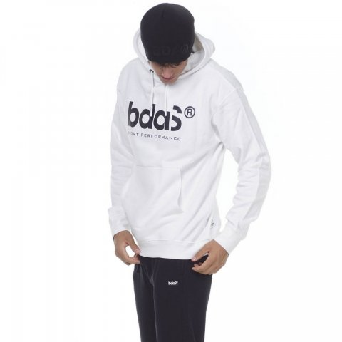 Body Action BODY ACTION MEN SPORTSWEAR HOODIE - WHITE