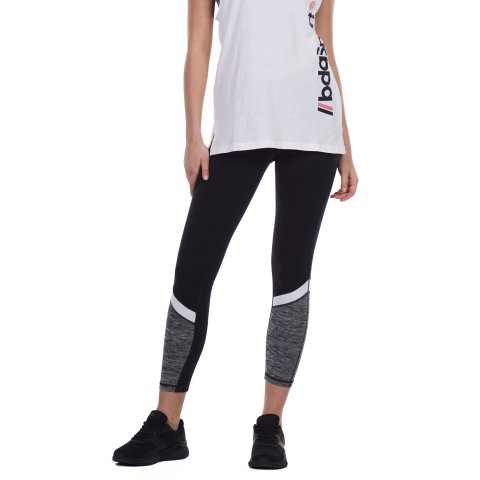 Body Action BODY ACTION WOMEN'S TRAINING TIGHTS BLACK